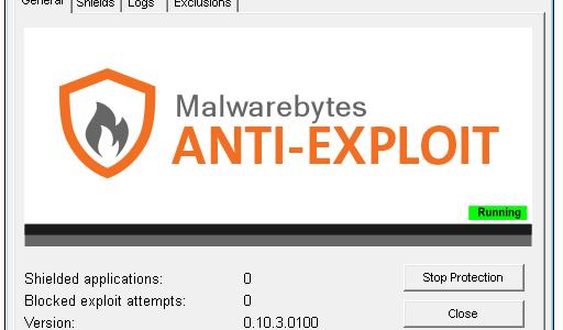 MBAE (Malwarebytes Anti-Exploit) vs All EKs (Exploit Kits)